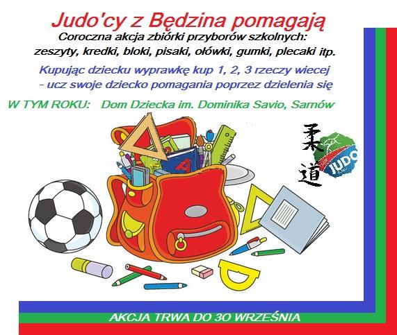 JUDO BĘDZIN POMAGAMY